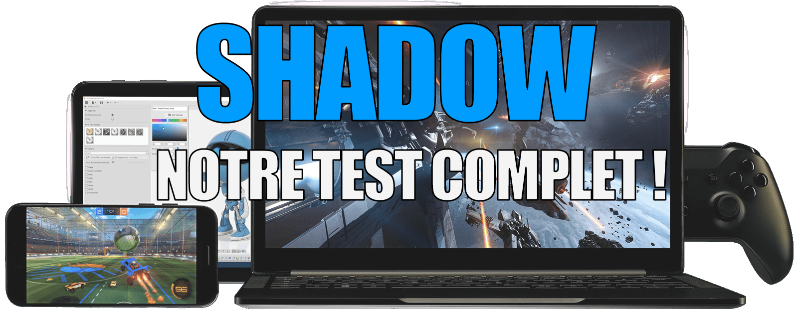 Test de Shadow, la solution de cloud gaming francaise ! Prix, offre, jeux